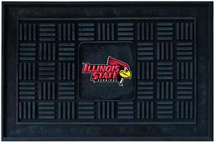 Fan Mats NCAA Illinois State Medallion Door Mat