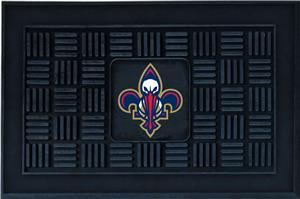 Fan Mats NBA Pelicans Medallion Door Mat