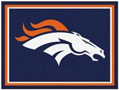 Fan Mats NFL Denver Broncos 8x10 Rug
