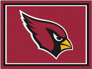 Fan Mats NFL Arizona Cardinals 8x10 Rug