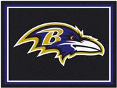 Fan Mats NFL Baltimore Ravens 8x10 Rug
