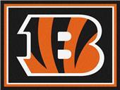 Fan Mats NFL Cincinnati Bengals 8x10 Rug