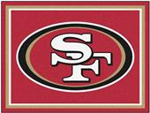Fan Mats NFL San Francisco 49ers 8x10 Rug