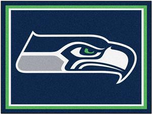 Fan Mats NFL Seattle Seahawks 8x10 Rug