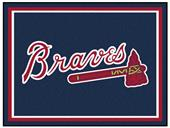 Fan Mats MLB Atlanta Braves 8x10 Rug