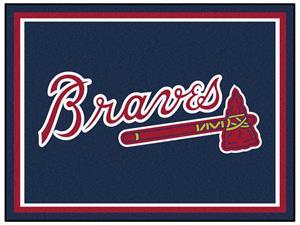 Fan Mats MLB Atlanta Braves 8x10 Rug