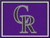 Fan Mats MLB Colorado Rockies 8x10 Rug