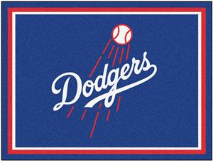 Fan Mats MLB Los Angeles Dodgers 8x10 Rug