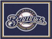 Fan Mats MLB Milwaukee Brewers 8x10 Rug