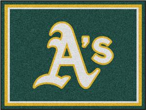 Fan Mats MLB Oakland Athletics 8x10 Rug
