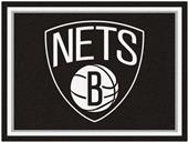 Fan Mats NBA Brooklyn Nets 8x10 Rug