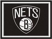 Fan Mats NBA Brooklyn Nets 8x10 Rug