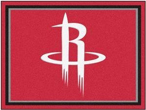 Fan Mats NBA Houston Rockets 8x10 Rug