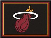 Fan Mats NBA Miami Heat 8x10 Rug