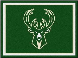 Fan Mats NBA Milwaukee Bucks 8x10 Rug