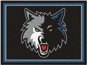 Fan Mats NBA Minnesota Timberwolves 8x10 Rug