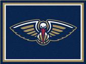 Fan Mats NBA New Orleans Pelicans 8x10 Rug