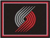 Fan Mats NBA Portland Trail Blazers 8x10 Rug