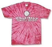 Tandem Sport Volleyball Tie Dye Way of Life TShirt