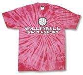 Tandem Sport Volleyball Tie Dye Way of Life TShirt