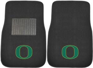 Fan Mats Univ Oregon Embroidered Car Mats (set)