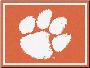 Fan Mats NCAA Clemson University 8x10 Rug