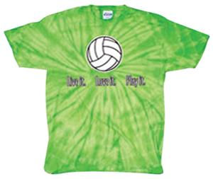 Tandem Volleyball Live It Tie Dye T-Shirt 4 Colors