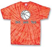 Tandem Basketball Live It Tie Dye T-Shirt - C/O