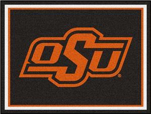 Fan Mats NCAA Oklahoma State University 8x10 Rug