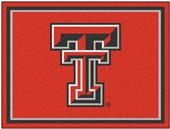Fan Mats NCAA Texas Tech University 8x10 Rug