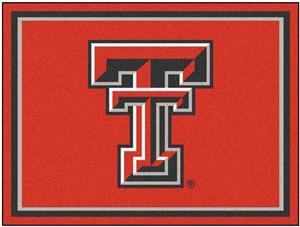 Fan Mats NCAA Texas Tech University 8x10 Rug