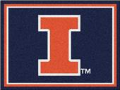 Fan Mats NCAA University of Illinois 8x10 Rug