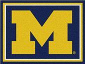 Fan Mats NCAA University of Michigan 8x10 Rug
