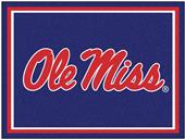 Fan Mats NCAA University of Mississippi 8x10 Rug