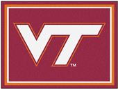 Fan Mats NCAA University of Virginia Tech 8x10 Rug