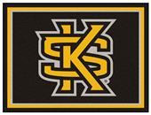 Fan Mats NCAA Kennesaw State University 8x10 Rug