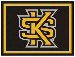 Fan Mats NCAA Kennesaw State University 8x10 Rug