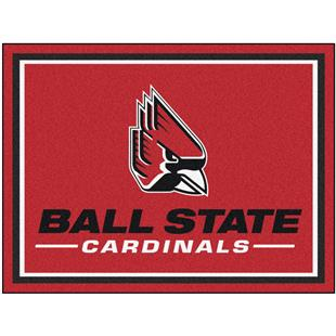 Fan Mats NCAA Ball State University 8x10 Rug