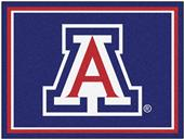 Fan Mats NCAA University of Arizona 8x10 Rug