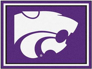 Fan Mats NCAA Kansas State University 8x10 Rug
