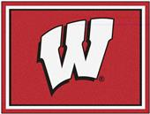 Fan Mats NCAA University of Wisconsin 8x10 Rug