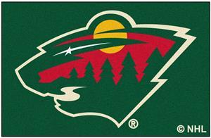 Fan Mats NHL Minnesota Wild Starter Mat