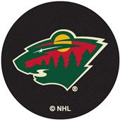 Fan Mats NHL Minnesota Wild Puck Mats
