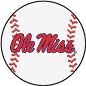 Fan Mats University of Mississippi Baseball Mat