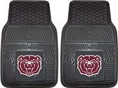 Fan Mats NCAA Missouri State Vinyl Car Mats (set)