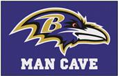 Fan Mats Baltimore Ravens Man Cave Starter Mat