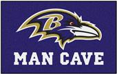 Fan Mats Baltimore Ravens Man Cave Ulti-Mat