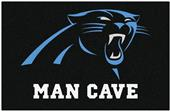 Fan Mats Carolina Panthers Man Cave Starter Mat