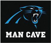 Fan Mats Carolina Panthers Man Cave Tailgater Mat
