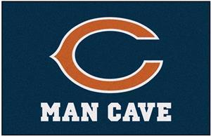 Fan Mats Chicago Bears Man Cave Starter Mat